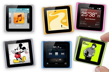 iPod nano получил обновленный интерфейс и более низкую цену