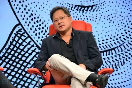 Исполнительный директор компании NVIDIA Дженсен Хуанг (Jen-Hsun Huang)