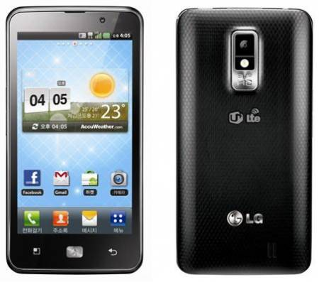 Флагманский смартфон LG Optimus LTE