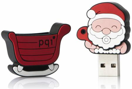Накопитель PQI Santa Claus U827 Travel Disk