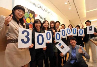 Суммарные продажи смартфонов Samsung Galaxy превысили 30 миллионов
