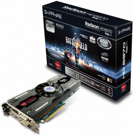 Видеокарта Radeon HD 6970 BF3 Special Edition