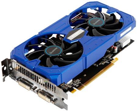 В систему охлаждения 3D-карты Leadtek WinFast GTX 560 Ti Hurricane входит 90-миллиметровых вентилятора
