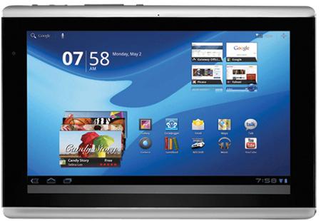 планшет Gateway TP A60