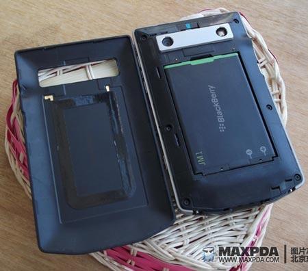 снимки загадочного смартфона BlackBerry