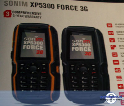 ���������� ������� Sonim XP5300 Force ����������� ���������� ���������� 3G