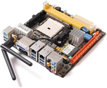 плата ZOTAC A75-ITX-WiFi