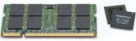Специалисты Invensas разработали новую технологию упаковки чипов DRAM