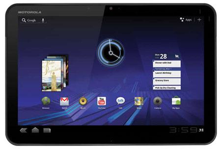 Motorola Mobility добавляет в планшет Xoom с поддержку LTE