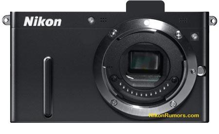 эскиз беззеркальной камеры Nikon