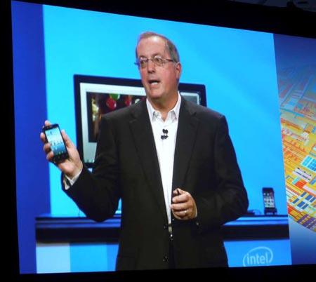 IDF 2011: ������� �������� �� ��������� Medfield � �� Android