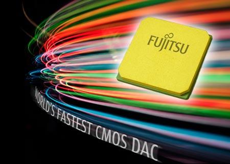 Специалисты Fujitsu создали самый быстрый в мире ЦАП для оптических линий связи, изготавливаемый по технологии КМОП