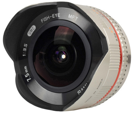 объектив Samyang 7.5mm 1:3.5 UMC Fish-eye MFT