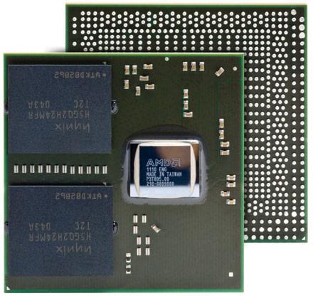 GPU начального уровня AMD Radeon E6460 для встраиваемых систем