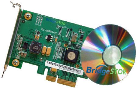 BridgeSTOR Compression Card