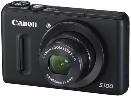Компактная камера Canon PowerShot S100 оснащена приемником GPS