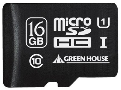 �������� Green House microSDHC ����� ���������� UHS-I