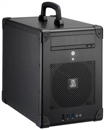 Корпус Lian Li PC-TU200 напоминает чемоданчик