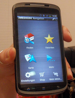 Medion Smartphone