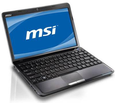Нетбук MSI Wind U270 теперь можно укомплектовать гибридным процессором E-450