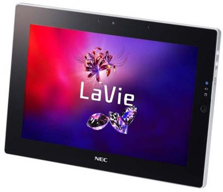 Планшета NEC LaVie Touch