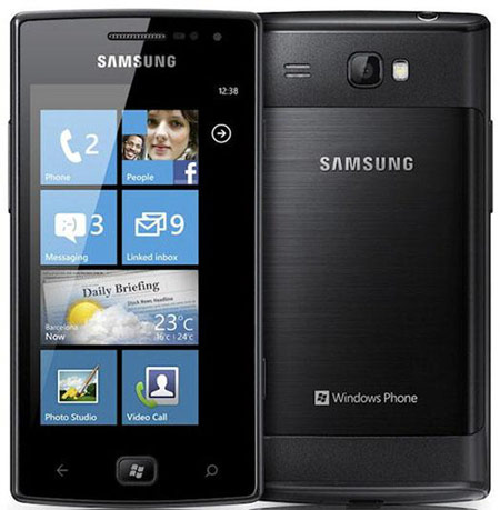 Смартфон Samsung Omnia W