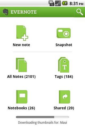 Evernote ��� Android