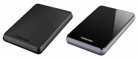 Внешние винчестеры Toshiba STOR.E BASICS и CANVIO