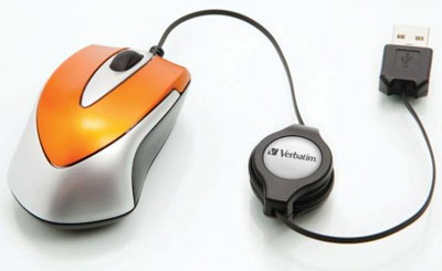 Verbatim Go Mini Optical Travel Mouse