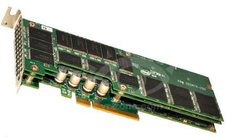 Представлены твердотельные накопители Intel серии 910 с интерфейсом PCI Express