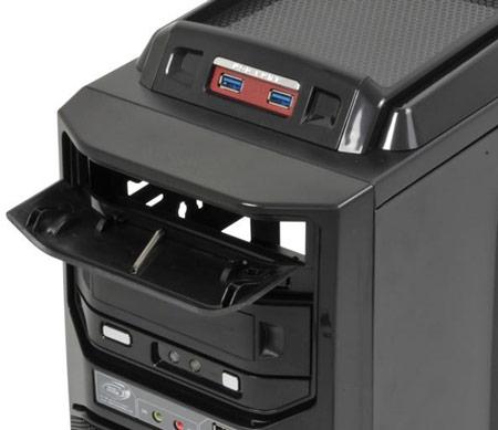 Корпус для игровых ПК GIGABYTE GZ-G1 Plus оснащен разъемами USB 3.0 и рассчитан на установку до шести вентиляторов