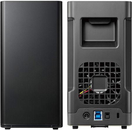 Внешние массивы накопителей I-O Data HDS2-UT объемом до 6 ТБ оснащены интерфейсом USB 3.0