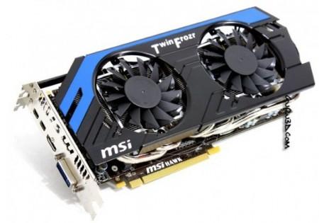 Видеокарта MSI Radeon HD 7870 HAWK