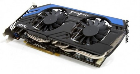 Видеокарта MSI Radeon HD 7870 HAWK