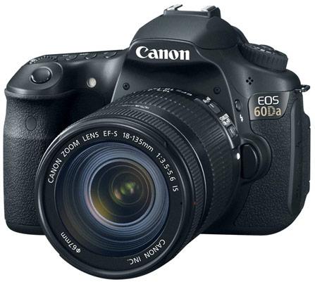 Canon адресует камеру EOS 60Da любителям астрофотосъемки