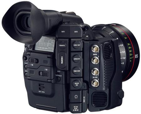 Canon анонсирует создание цифровой кинокамеры Cinema EOS C500 с поддержкой разрешения 4K