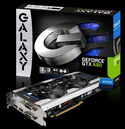 Galaxy GeForce GTX 680 GC 2 GB