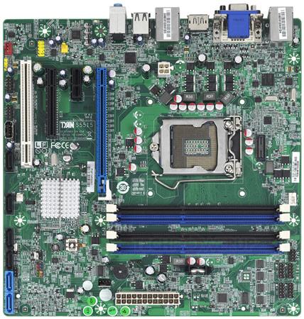 ��������� ����� TYAN S5515 � S5517 �������� �� ������� Intel Q67