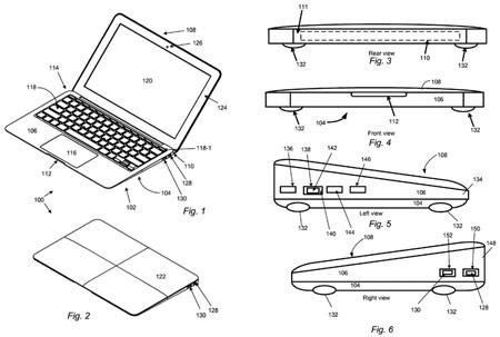 Apple пытается запатентовать форму корпуса ноутбука