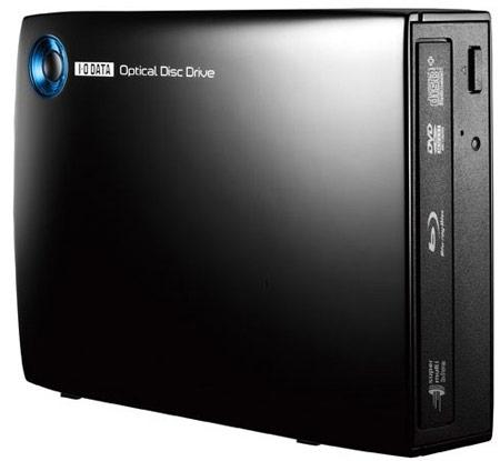 Внешний привод Blu-ray I-O Data BRD-UT14X оснащен интерфейсом USB 3.0