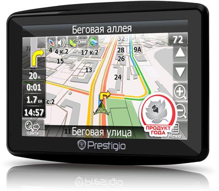 Prestigio 7900BTTV — первый семидюймовый навигатор в линейке GeoVision