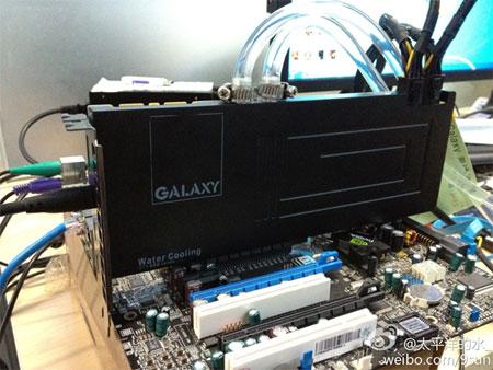 Galaxy укомплектовала однослотовый вариант GeForce GTX 680 водоблоком