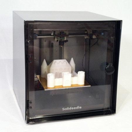 ����� ����� ��������������� ������� �� 3D-������� Solidoodle ���������� $499