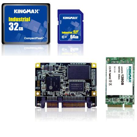 KINGMAX выходит на рынок промышленных решений с SSD, картами памяти, модулями DRAM и встраиваемой флэш-памятью