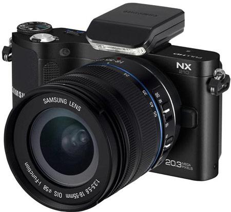 Представлены камеры Samsung NX20, NX210 и NX1000