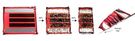 Учёные создали сверхтонкий фотоэлемент толщиной 2 мкм