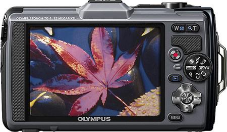 компактная камера в защищенном исполнении Olympus TG-1 iHS Tough