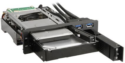 Sharkoon SATA QuickPort Intern Multi �������� � ����� ����������� 5,25 ����� ��� ���������� � ��� ������� ������ USB 3.0