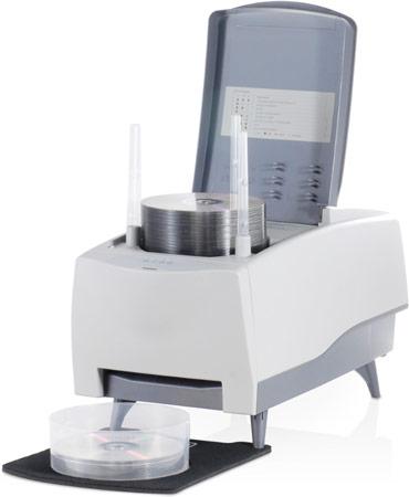 Устройство для записи оптических дисков Acronova Nimbie USB Plus оснащено интерфейсом USB 3.0 и лотком на 100 дисков