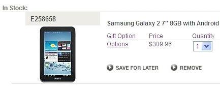 Samsung Galaxy Tab 2 7.0 ������ � $310 � ���